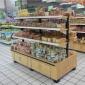 批�l�r格 超市面包糕�c柜 面包�架 商用展示柜